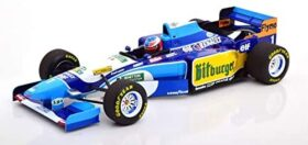 ミニチャンプス 1/18 ベネトン ルノー B195 優勝 モナコGP ワールドチャンピオン 1995 シューマッハ