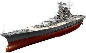 タミヤ 1/350 艦船シリーズ No.25 日本海軍 戦艦 大和
