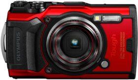 OLYMPUS デジタルカメラ Tough TG-6 レッド